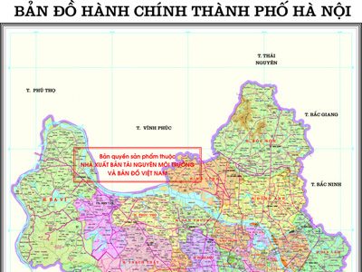Hanoi Administrative Map Project