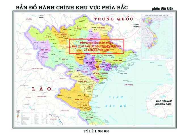 Bản đồ Hanh Chinh Miền Bắc Việt Nam Miền Nam Miền Trung